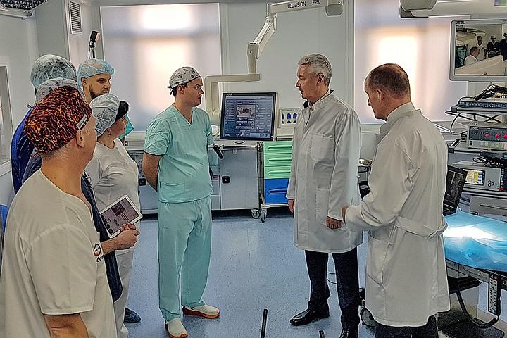 В Московском Клиническом Научно-практическом Центре имени А.С. Логинова создали уникальные операционные