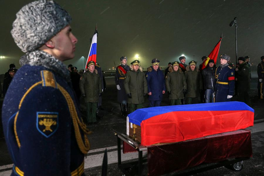 тело погибшего пилота су-24 доставили увеличением запросов