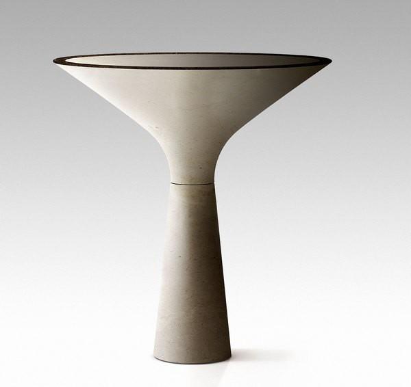 Мраморный бокал – напольная раковина для роскошной ванной комнаты