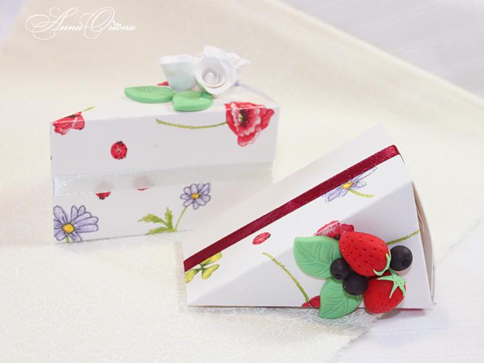 Упаковка для подарков торт 579
