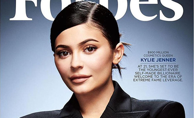 Кайли Дженнер на обложке Forbes: 5 секретов ее многомиллионной империи