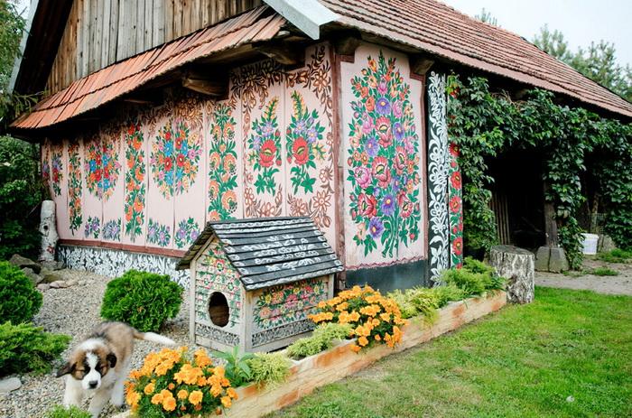 Польская деревня-музей под открытым небом