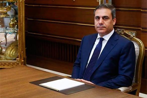Маски сброшены:Глава турецкой разведки: Мир должен признать «Исламское государство»