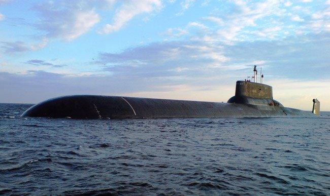 самая мощная подводная лодка тайфун
