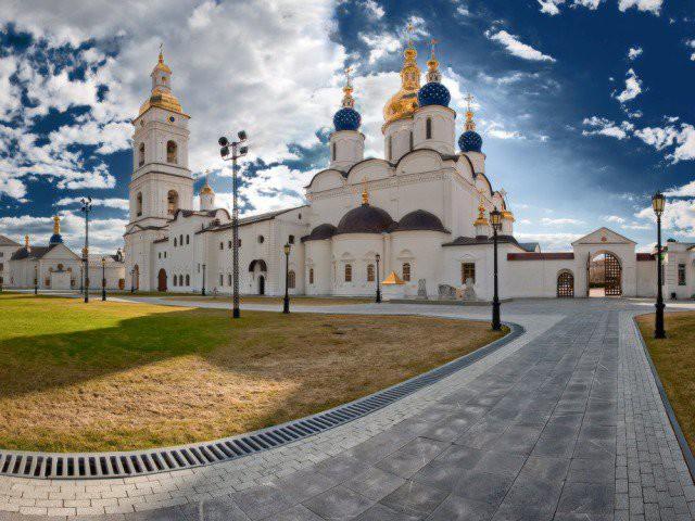 Тобольский кремль Чудеса России, природа, сооружения