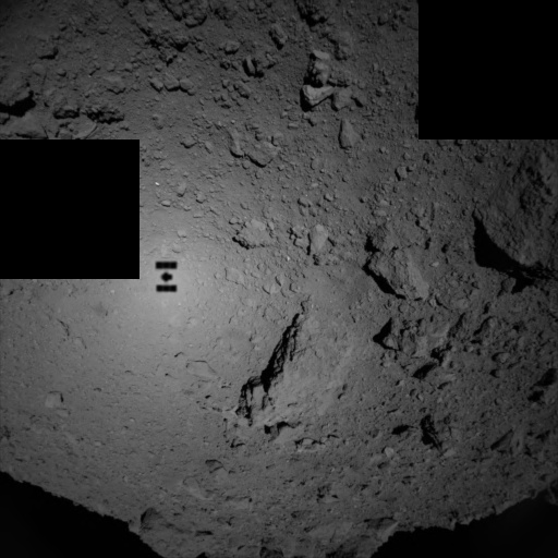 Зонд «Хаябуса-2» начал высадку спускаемых аппаратов на астероид Рюгу