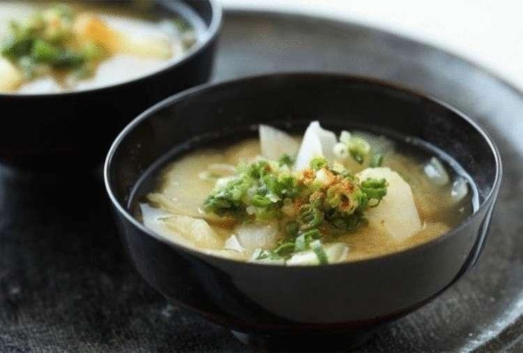 Рецепты японских блюд: суп м…