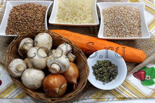 монастырская каша - ингредиенты