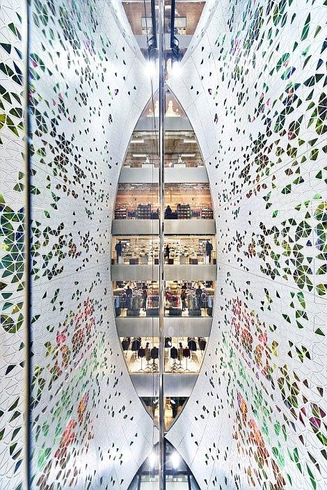 Универмаг Printemps Haussmann в Париже