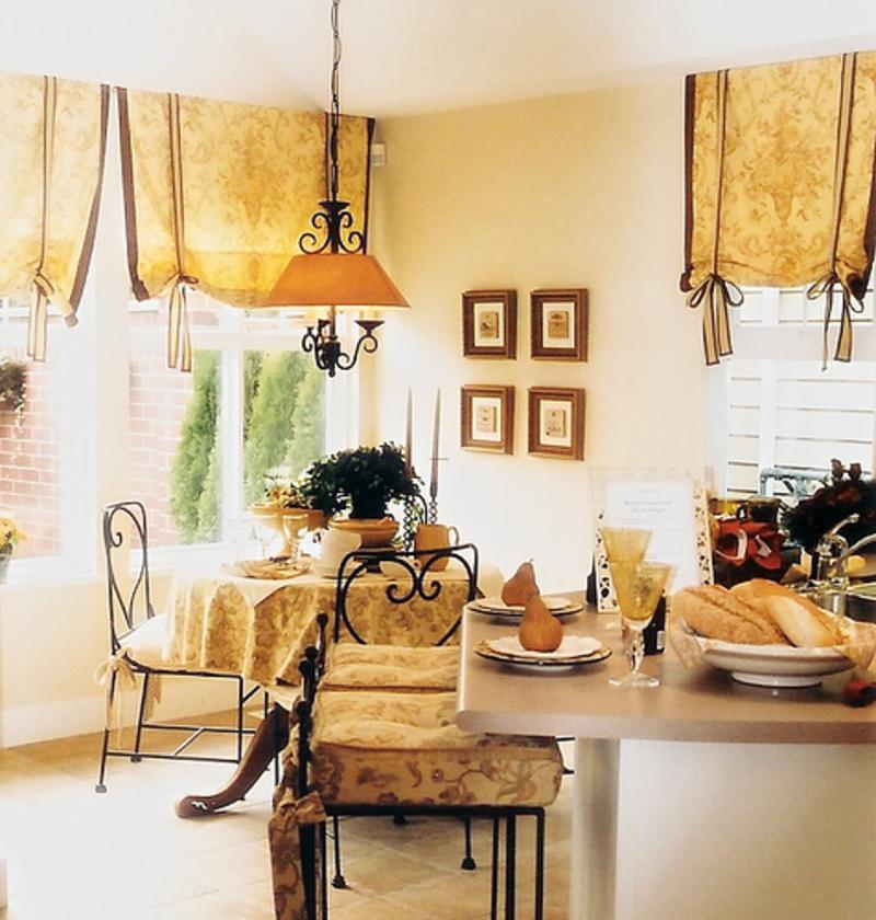 Пошив штор выкройки римские