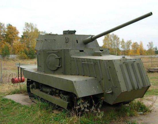 """""""На Испуг-1"""": про самую «странную» боевую машину времён Великой Отечественной Войны"""