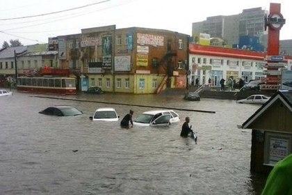 В МЧС назвали нормой потоп в Курске