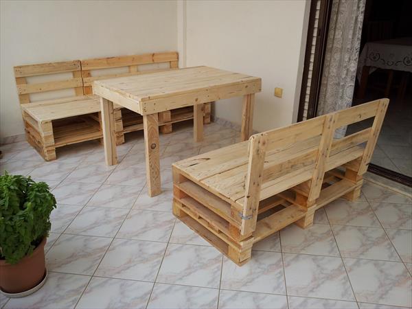 Мебель с поддонов своими руками фото