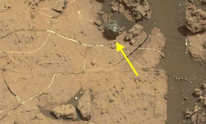 На Марсе обнаружена странная сфера