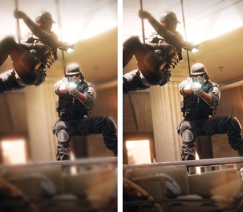 Графику PC версии Rainbow Six: Siege сравнили на различных настройках качества в новом видео
