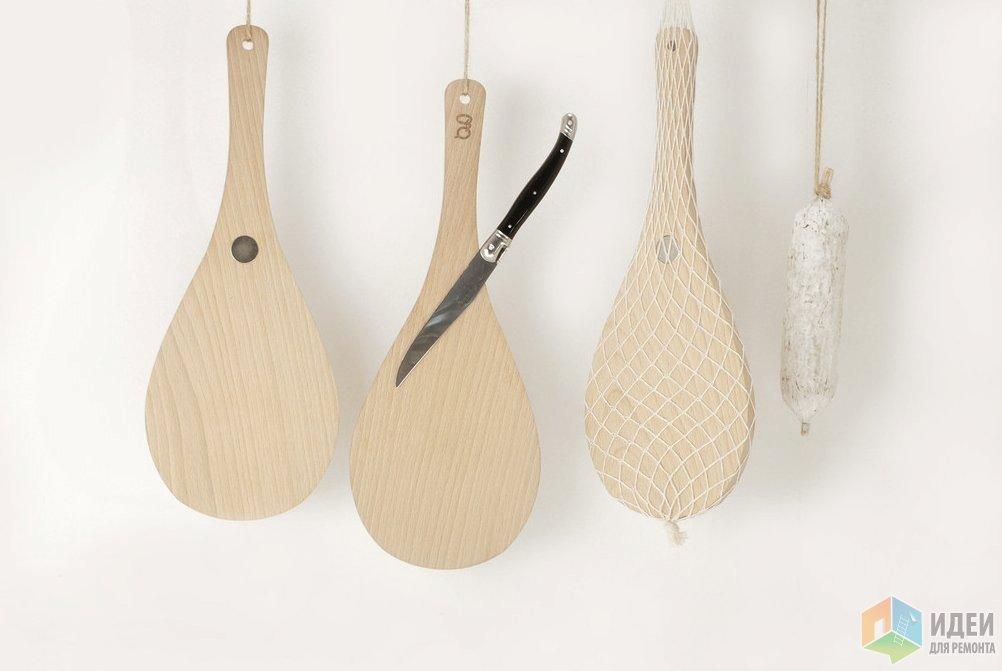 Художественное хранение ножей - аксессуары для кухни