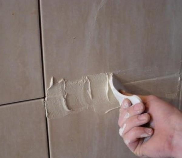 Изготовление затирки для плитки своими руками