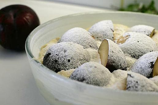 slivakeks7 Фото рецепт сливового кекса с сахарной корочкой