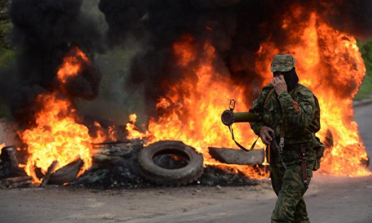 Ополченцы сообщили о боях на окраине Донецка