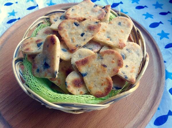 Хрустящие печеньки с оливками
