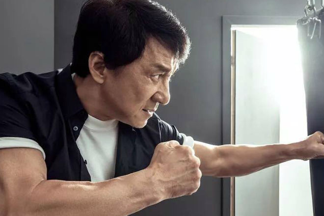 Тренировка Джеки Чана