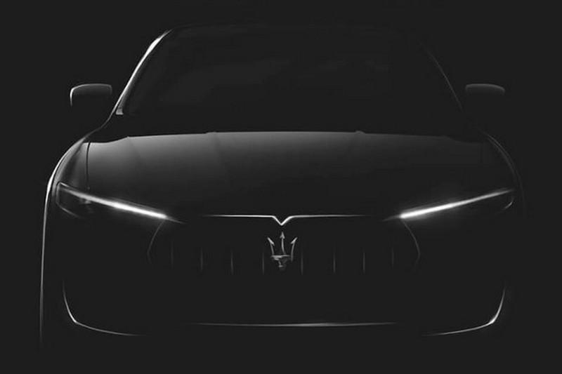 Maserati приоткрыла внешний вид своего кроссовера