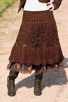 Переделка юбки в стиле бохо