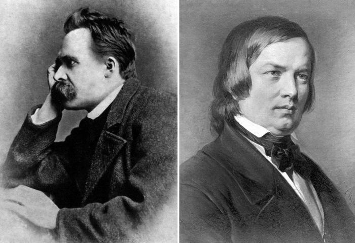 Гениальные безумцы Фридрих Ницше и Роберт Шуман
