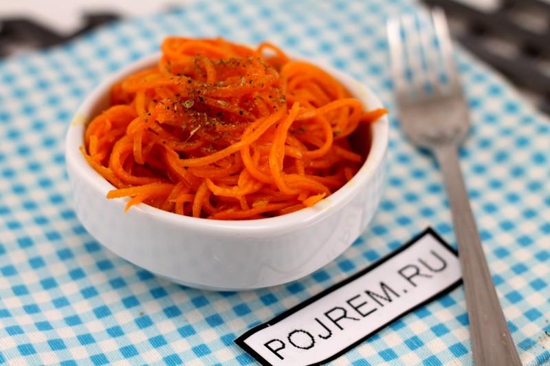 Как приготовить корейскую морковь в домашних условиях с приправой