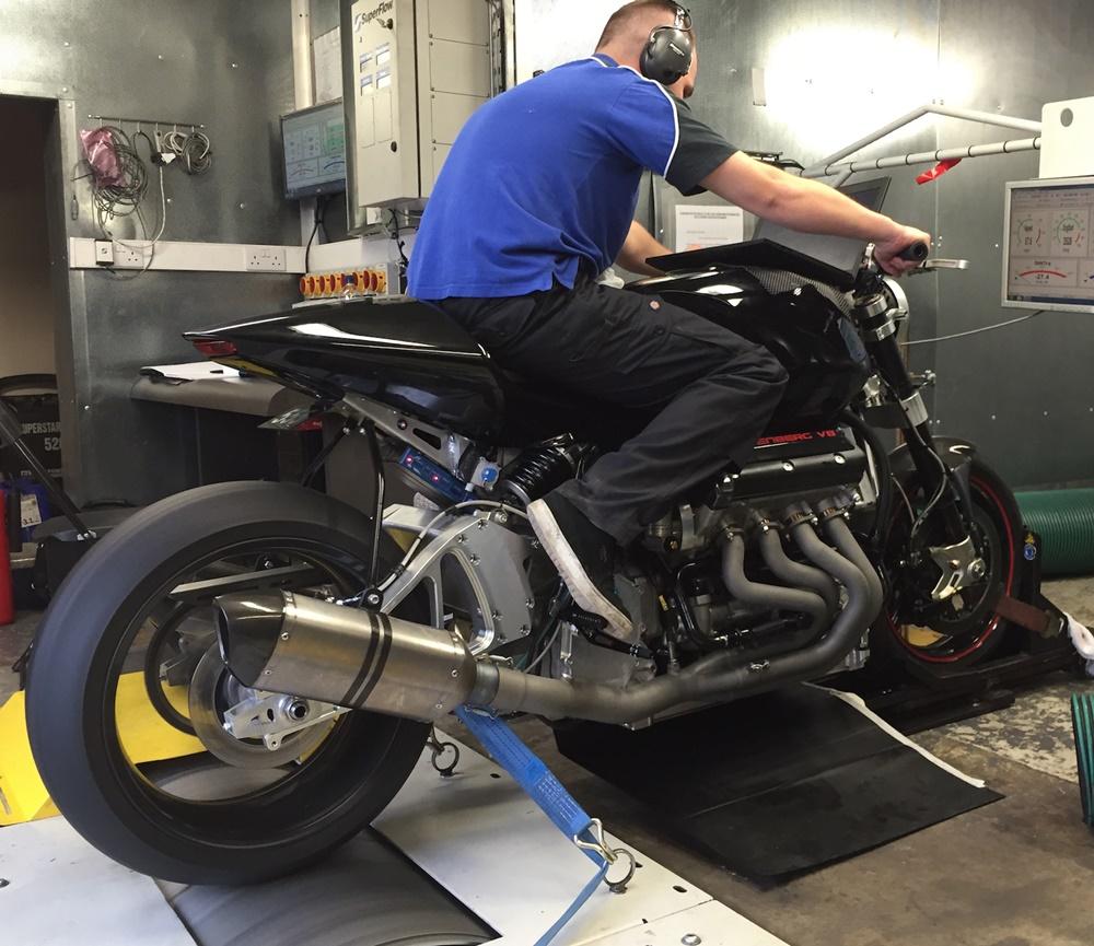 Мотоцикл Eisenberg V8