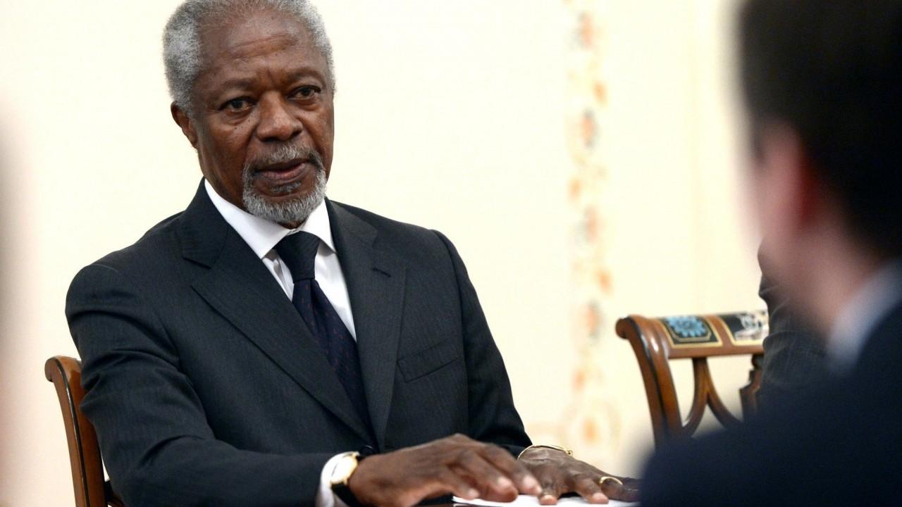 Лавров и Медведев выразили соболезнования в связи с кончиной Кофи Аннана