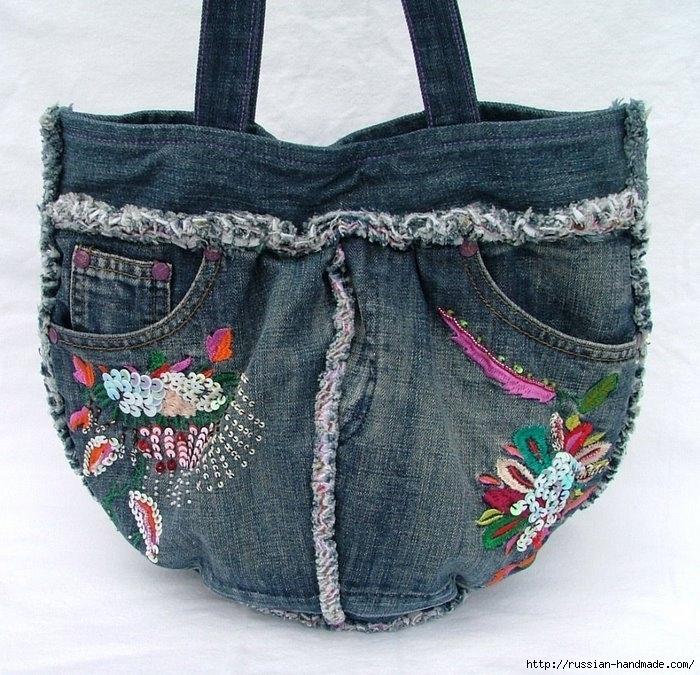 Модные сумки из старых джинсов (21) (700x675, 326Kb)