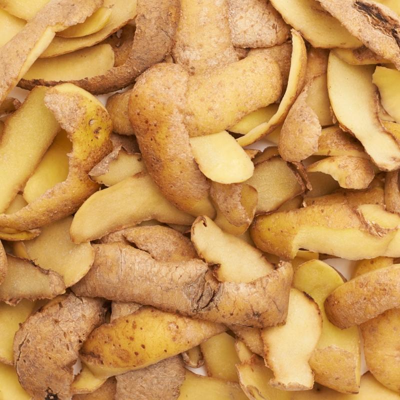 картофельные очистки как удобрение