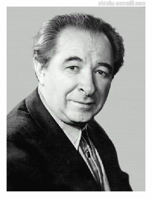 Лебедев Евгений Алексеевич актёр, народный артист СССР