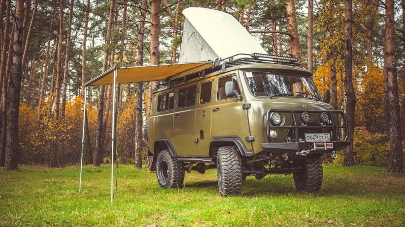 УАЗ 'Буханка' - машина для дальних путешествий с комфортом 2206, буханка, оффроуд, уаз