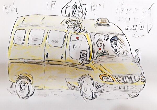 Водитель маршрутки обалдел от наглости пассажиров. Прикол из жизни.