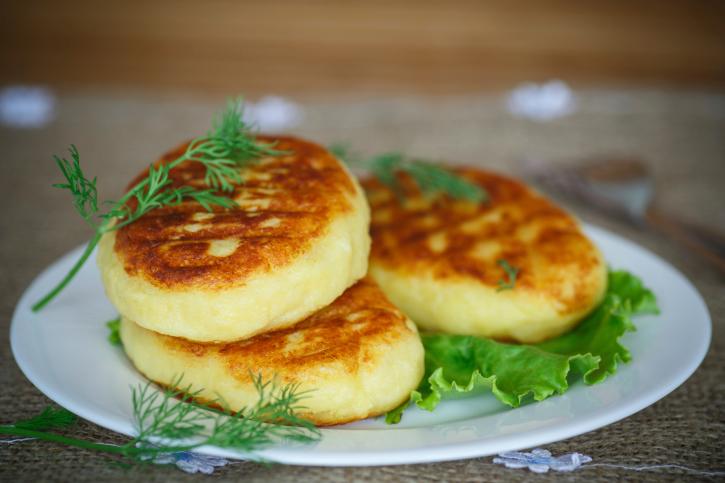 Картофельные зразы постные с грибами фото рецепт