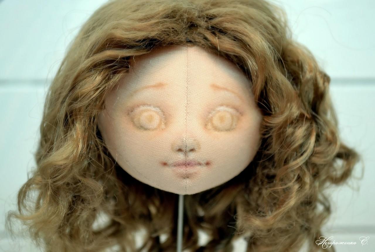 Как сделать кукле носик