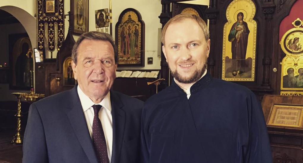 Бывший канцлер Германии интересуется православием