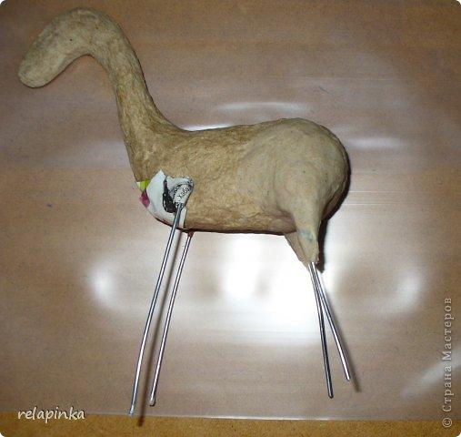 Мастер-класс Поделка изделие 23 февраля Папье-маше Принц на лошадке мастер-класс Бумага фото 12