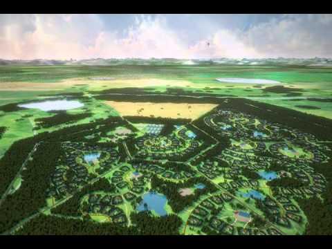 Малоэтажная планета. Модель поселения МП№1. Версия 2.0