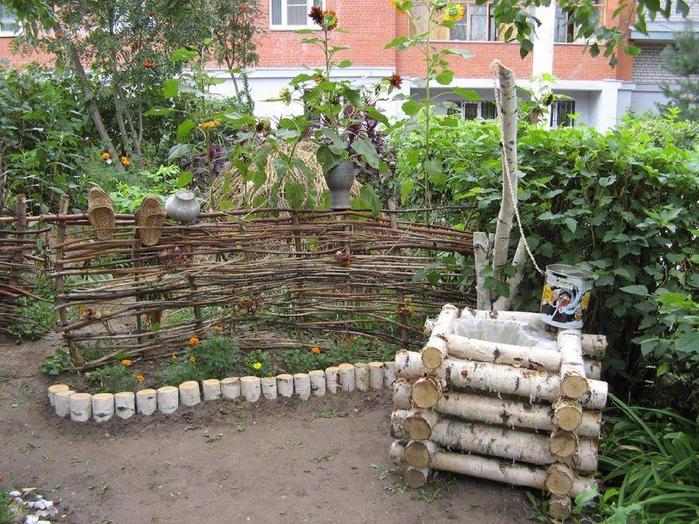 Дизайн садового участка своими руками в деревне