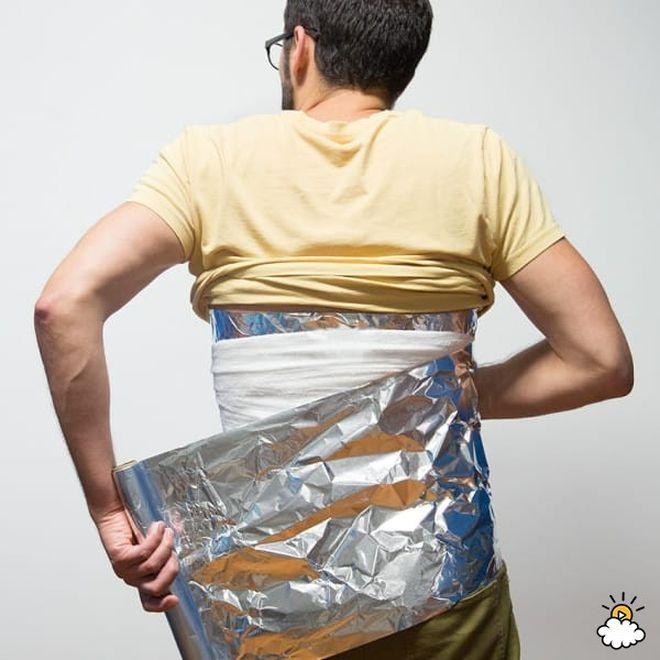 9 супер способов снять боль с помощью алюминиевой фольги