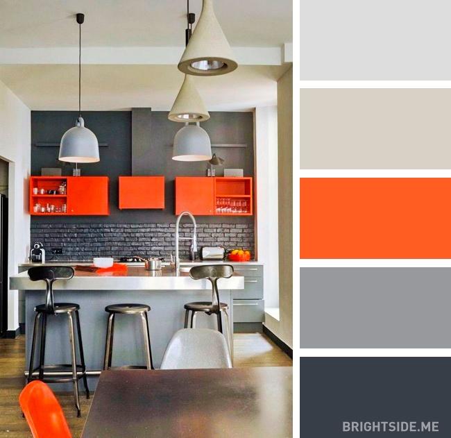 20 идеальных цветовых сочетаний для оформления кухни