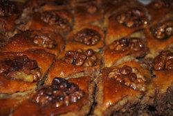 Блины на Масленицу: блинный пирог аля Пахлава