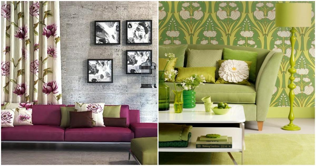 25 вдохновляющих фото идей интерьеров, оформленных в цветочном стиле