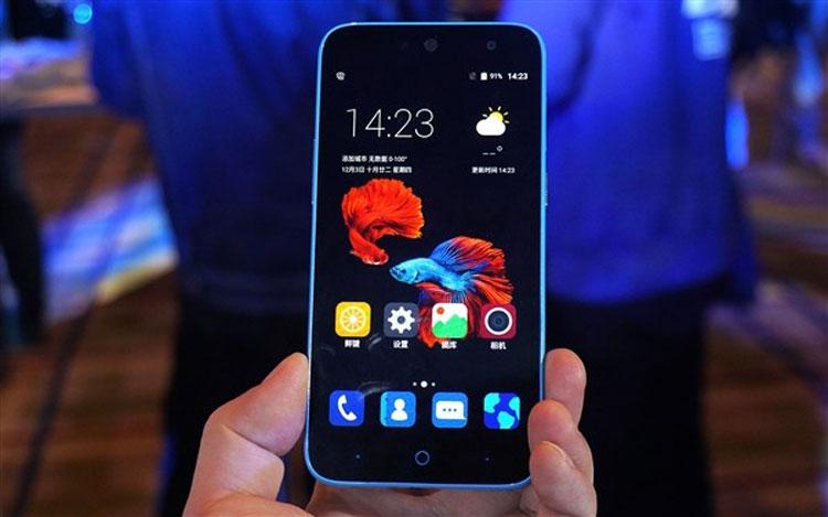 ZTE Blade A1 - самый доступный смартфон с дактилоскопическим сенсором