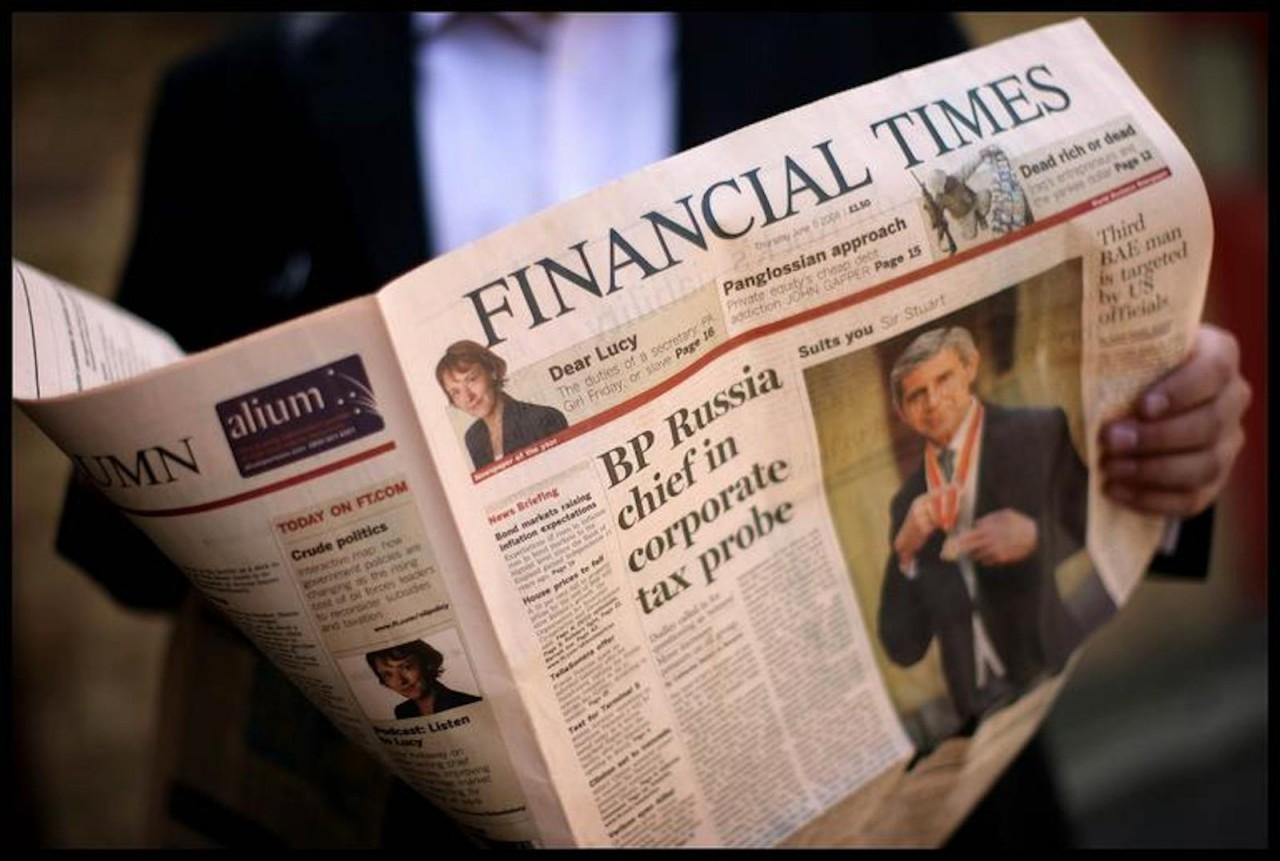 """Что на самом деле думают русские (""""The Financial Times"""", Великобритания)"""