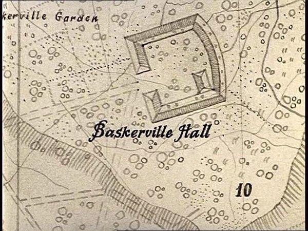 Где находится Баскервиль-Холл?