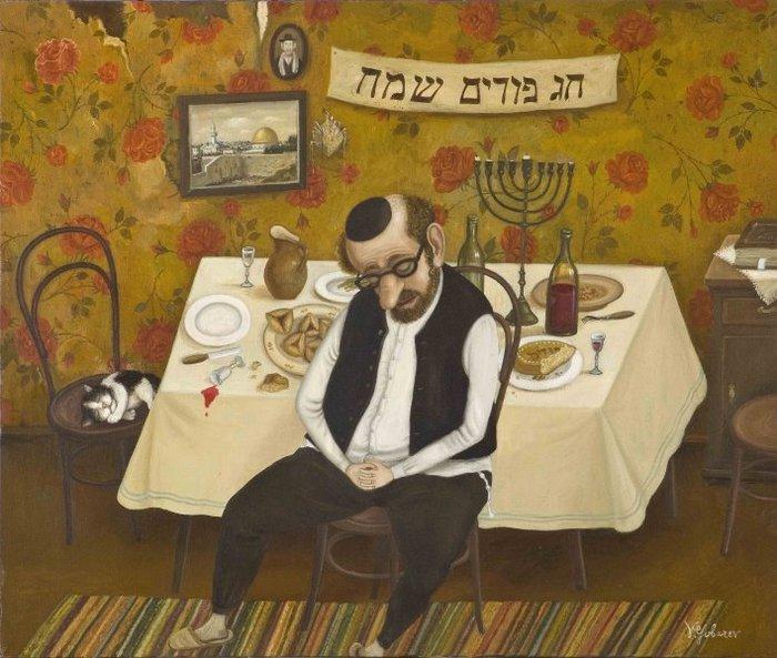 Бриллиантовая нога: сказ о том, как старый еврей в Израиль уезжал